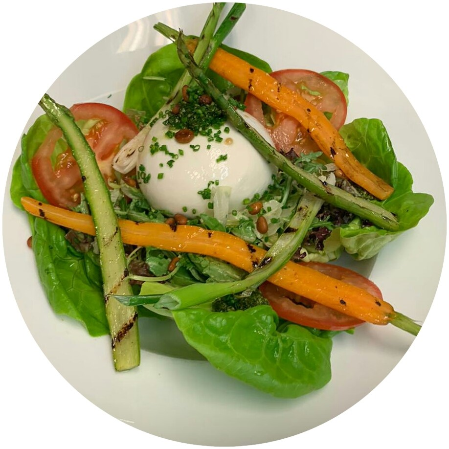 Salade Mozarella Rond